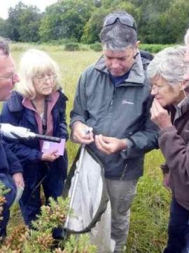SSG field meeting Copyright: Nigel Cane-honeysett